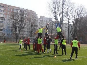 Сборная Украины по регби победила Португалию