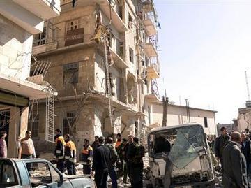 Перестрелка в Сирии в Дамаске