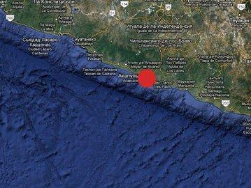 В Мексике произошло землетрясение магнитудой 7.6 баллов