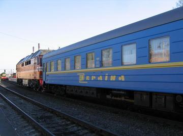 Неизвестный якобы заминировал поезд Харьков-Одесса