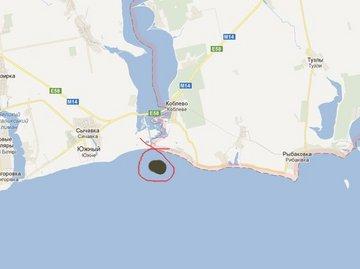 В море обнаружены разлитые нефтепродукты