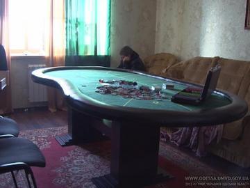 В Одессе прикрыли подпольный покер клуб