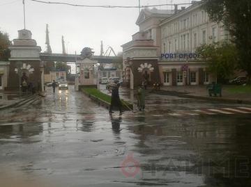 В Одессе опять потоп