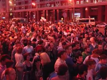 Онлайн трансляция митингов в поддержку Навального