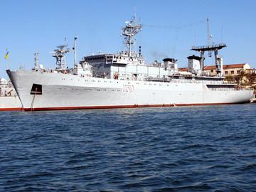 Захвачен «Славутич» в Крыму