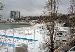 Зима в Одессе - аварии, стихийные бедствия и нехарактерные морозы