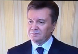 Янукович назвал события на майдане бандитизмом (видео)