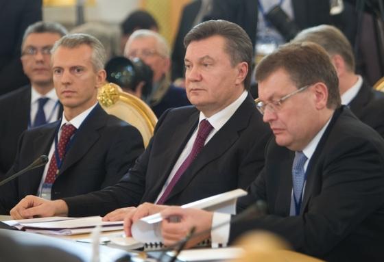 Виктор Янукович побывал в Москве (фото)