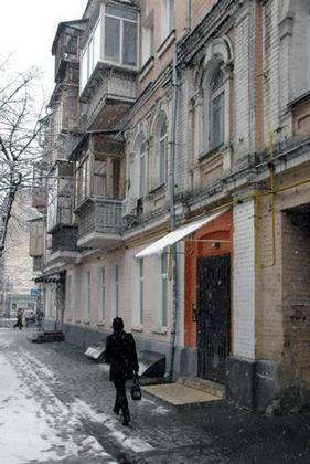 Старый дом, в котором жили Игорь Заводский и его концертный директор. Фото @ КП УА