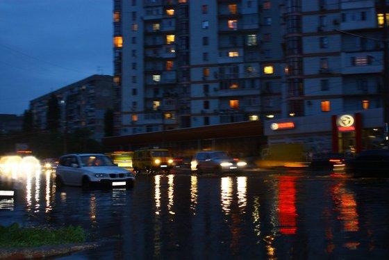 Потоп на ул. фрунзе в Одессе. Фото пользователей Одесского форума