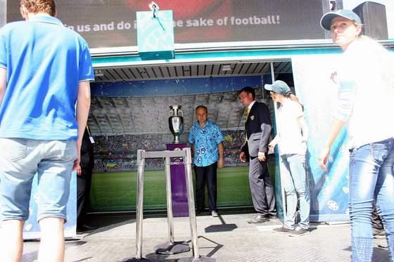 Кубок Евро 2012 вчера побывал в Одессе