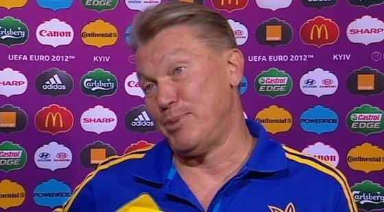 Олег Блохин, Тренер сборной Украины по футболу