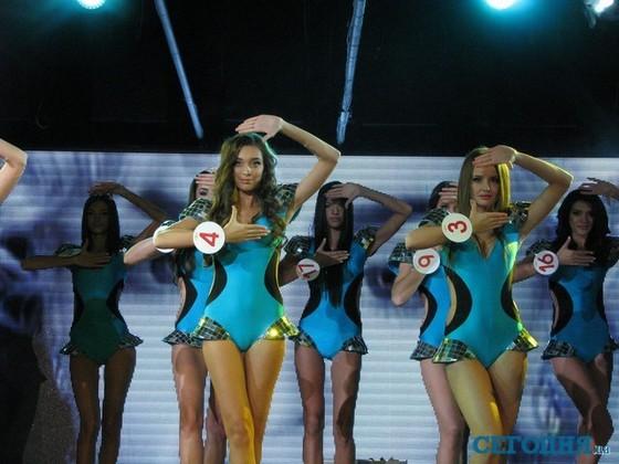 Участницы конкурса Королева Одессы