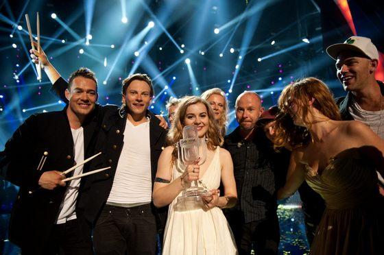 Эмили де Форест - победительница Евровидения 2013