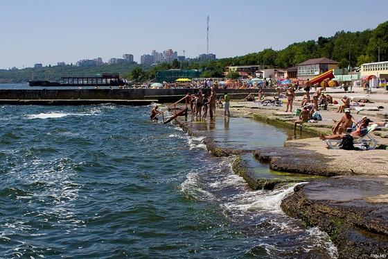 Пляж Ланжерон Одесса. Фото A1ex fotki.md
