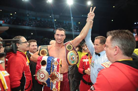 Кличко победил Поветкина (+ фото и видео бокса)