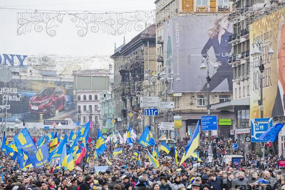 Евромайдан стал один из самых массовых митингов в истории Украины