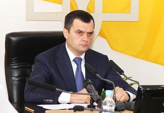 Виталий Захаренко - министр МВД Украины