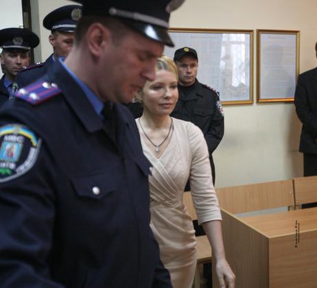 Юлия Тимошенко. Фото с сайта Тимошенко