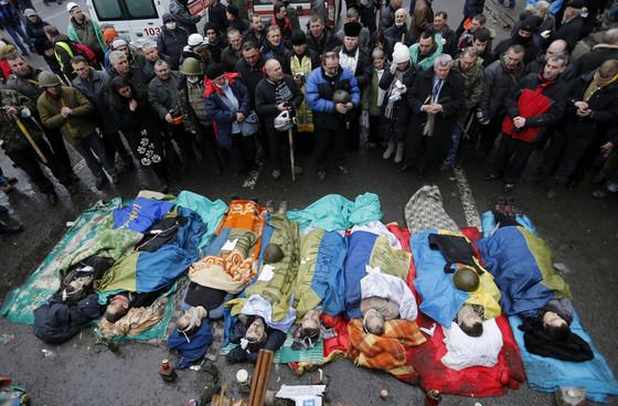 В Украине 22 и 23 февраля объявлены днями траура.