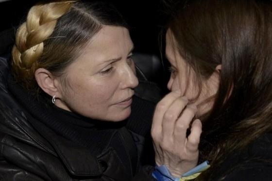 Тимошенко и дочь